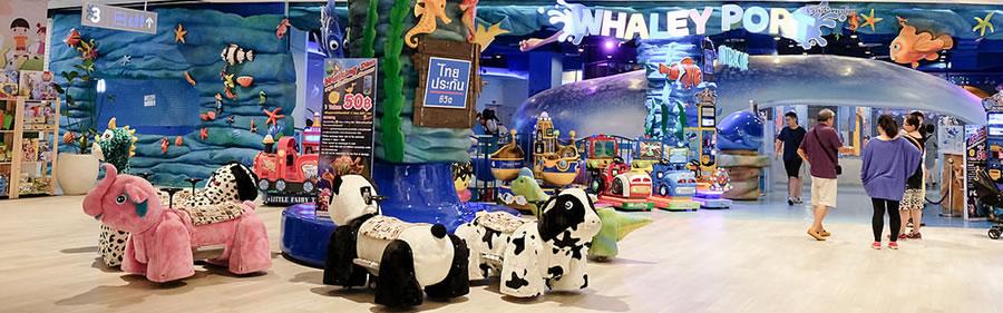 Hua Hin Bluport Shopping Centre kid's playground